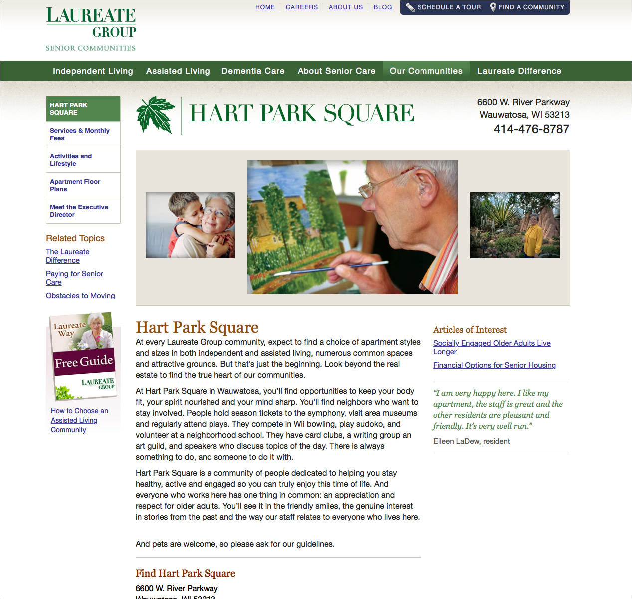 Laureate Group Home